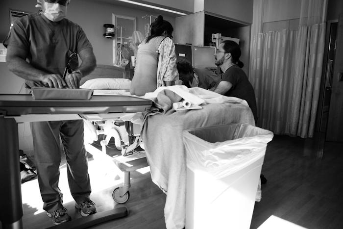 Getting an epidural